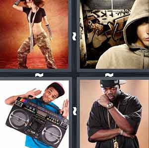Hip hop dancer, Boombox, Eminem, and Rapper