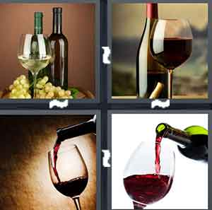 4 Pics 1 Word All Levels With Wine Image
